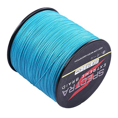 Generic 100 pe braided fishing line 6 300lb test blue 100m for B liner fish