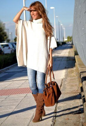 Bershka 2012  Sweaters and Zara  Jeans, cute outfit!  I need the sweater in every color, STAT!