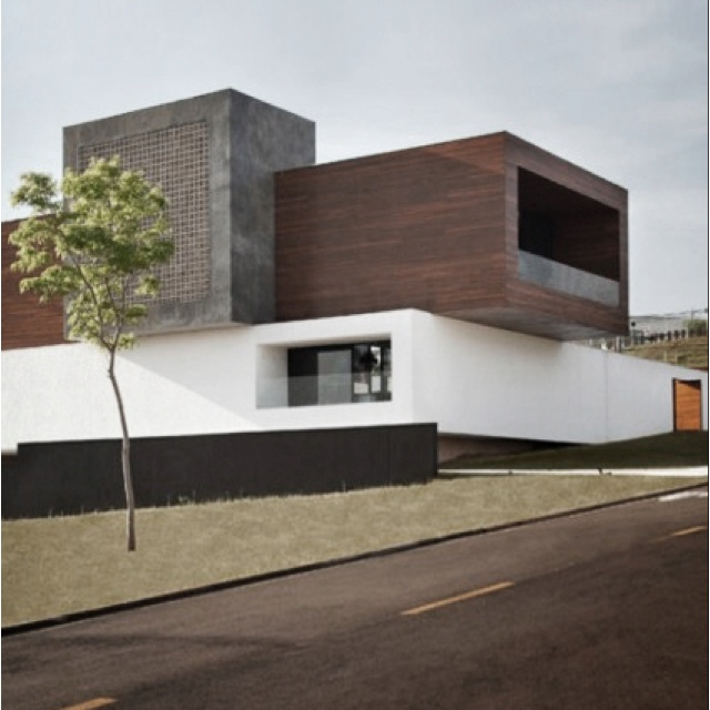 Modern House's are common today.