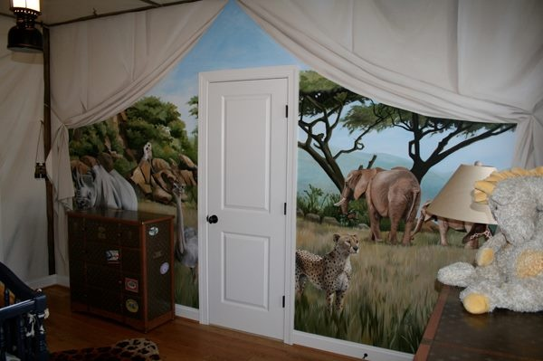 safariChild Room, Kids Room, Decor Inspiration, Baby'S Room, Baby Room, Safari Room, Classroom Ideas, Destinations Decor