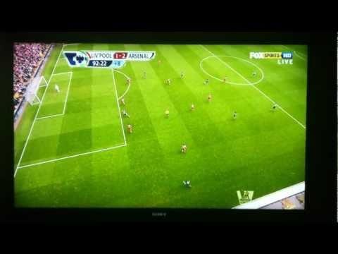 Robin van Persie Gol vs Liverpool #Arsenal #RvP