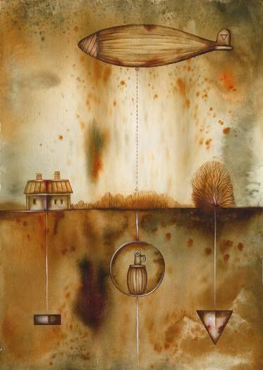 Very Useful Minerals by Eugene Ivanov, watercolor on paper, 29 X 41 cm, $430. #eugeneivanov #@eugene_1_ivanov #modern #original #oil #watercolor #painting #sale #art_for_sale #original_art_for_sale #modern_art_for_sale #canvas_art_for_sale #art_for_sale_artworks #art_for_sale_water_colors #art_for_sale_artist #art_for_sale_eugene_ivanov #abstract