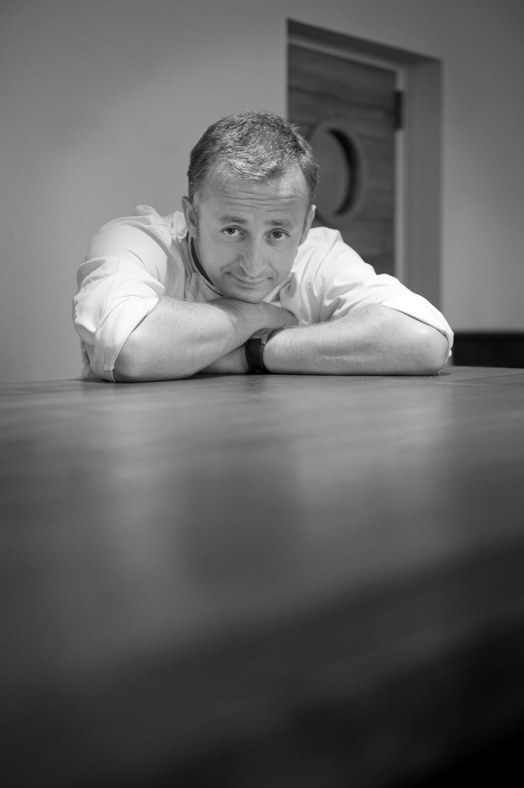Chef Fabien Lefebvre, Octopus (1 Michelin star as of 2008), Beziers, France - http://www.restaurant-octopus.com
