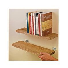 View a Larger Image of Blind Shelf Supports pair