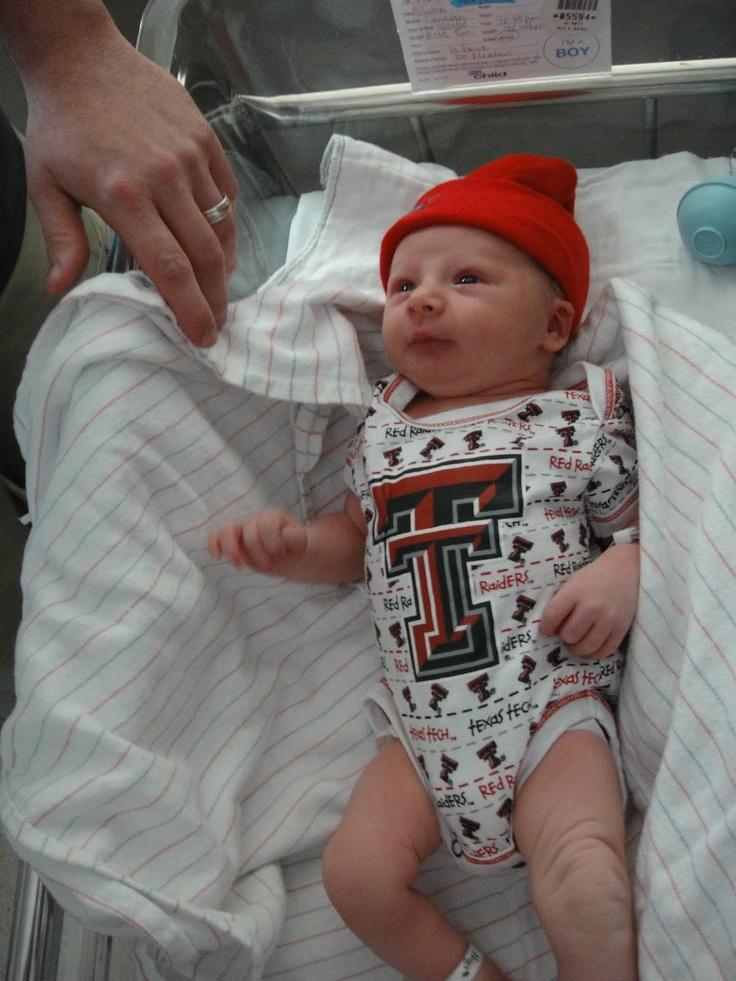 Hit 'em wreck 'em Texas Tech!