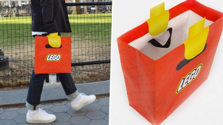 This Bag Which Makes You Look Like A Lego Man Is Sick - TheLADbible