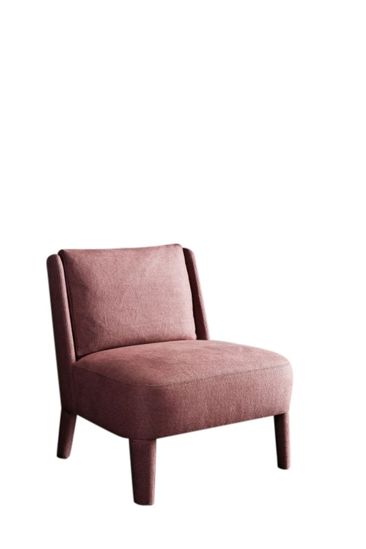 Cecile  Contemporary, Leather, Upholstery  Fabric, Wood, Armchair by Meridiani