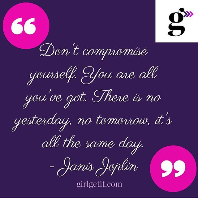 Integrity is important. Never compromise who you are. Every day you represent…