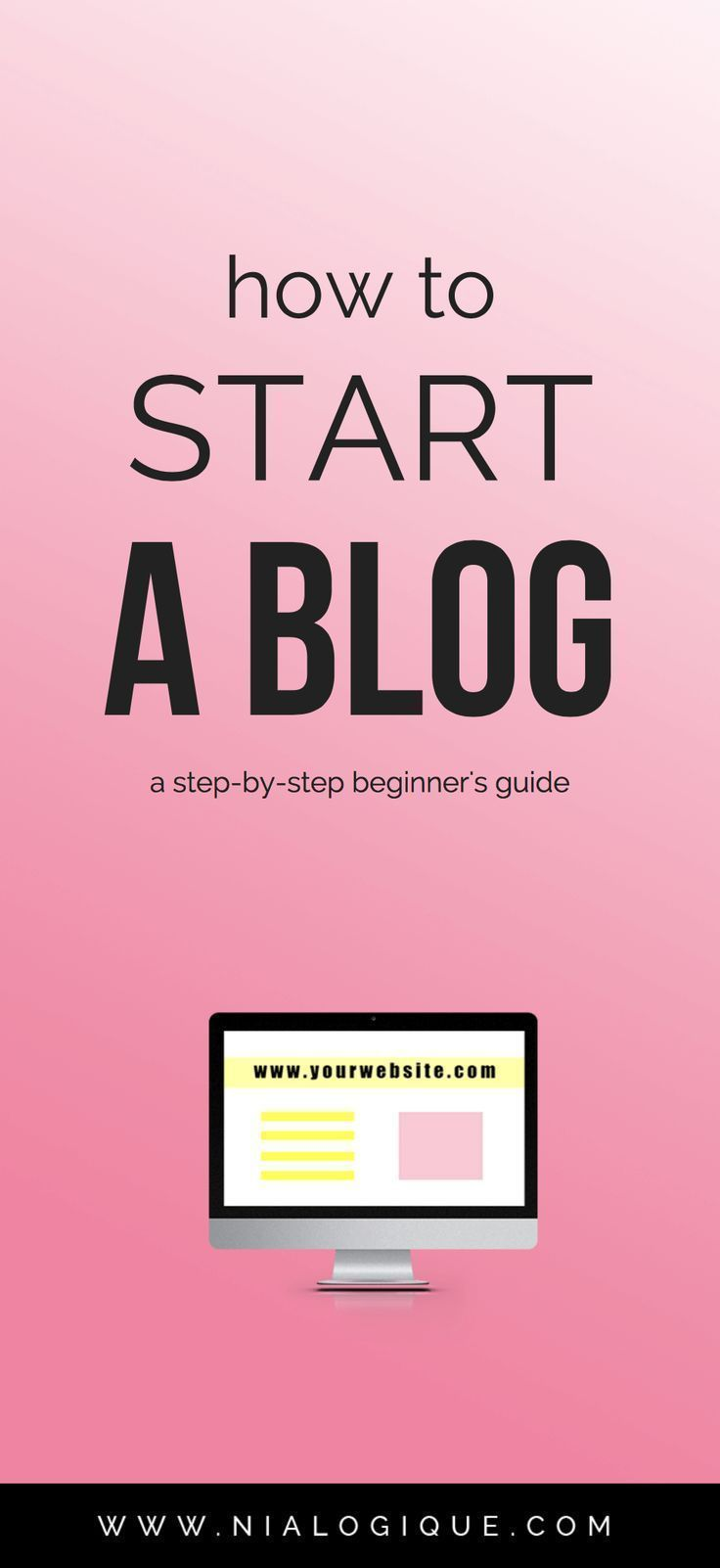How To Start A Blog A Free StepByStep Tutorial On How