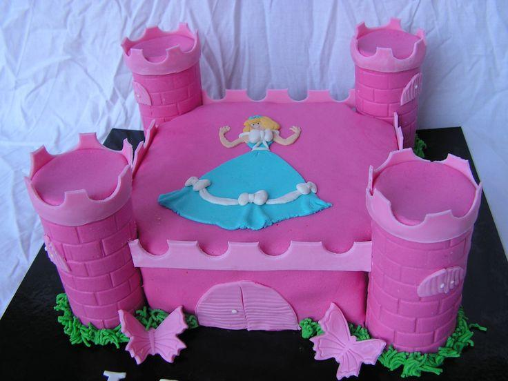 Taart Prinses kasteel