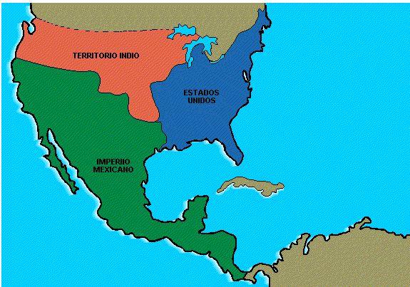 Image detail for -... de mexico al consumarse la independencia 1821 desde alta california y