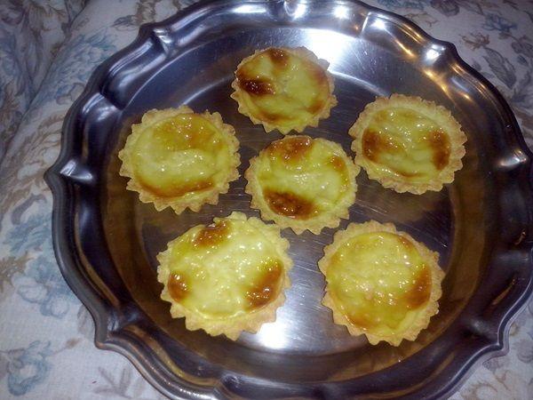 Aprenda a preparar a receita de Empadinha doce