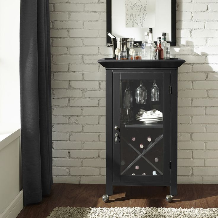 Mini Bar Cabinet Furniture: Best 25+ Portable Bar Ideas On Pinterest