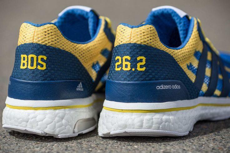 Adidas Adizero Adios Boston Marathon 2017 Heel