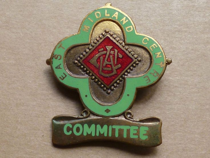 RAC Royal Automobile Auto Cycle Union 03 Badge Car East Midland Centre COMMITTEE