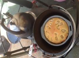 Assunta's Apple Tea Cake | Ozpig - Great Cooking Outdoors