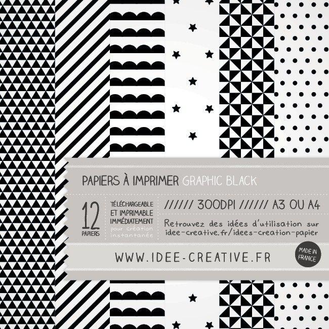 Maison and boutiques on pinterest - Motif scandinave a imprimer ...