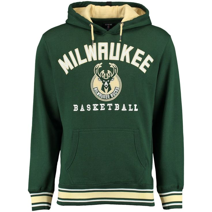Milwaukee Bucks UNK MVP 2.0 Pullover Fleece Hoodie - Hunter Green