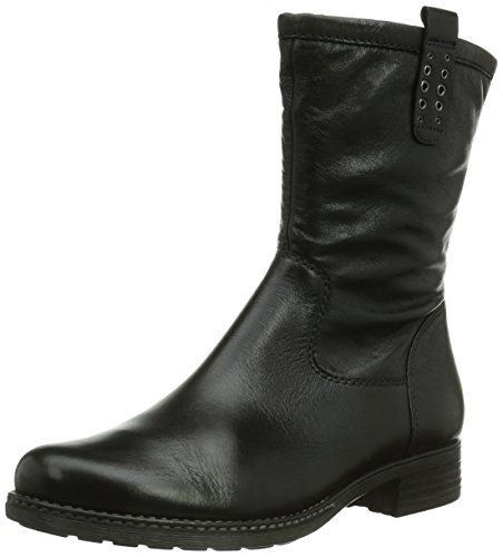 Gabor Shoes 92.783.61 Damen Biker Stiefel, Schwarz (schwarz(Nickif.)), 40 EU (6.5 Damen UK)