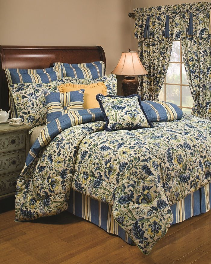 Waverly Imperial Dress Porcelain Bedding Collection 25
