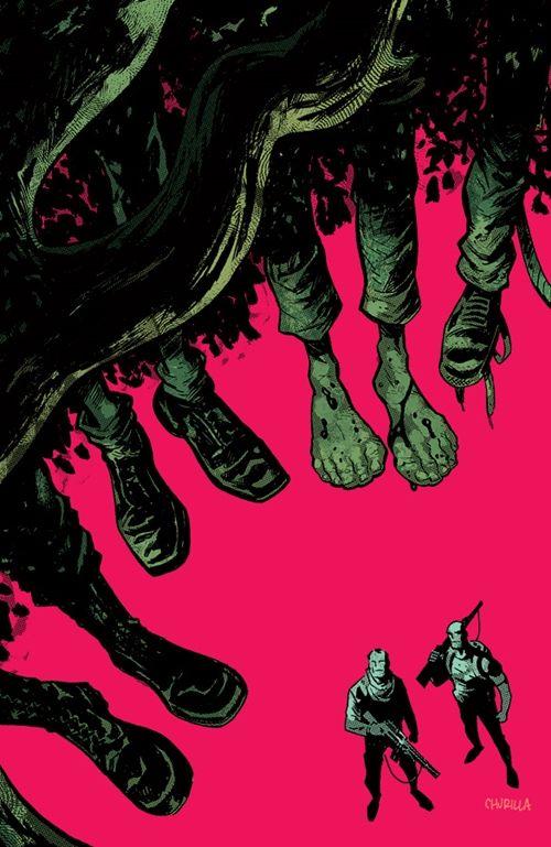 Blackacre #3, cover by Brian Churilla