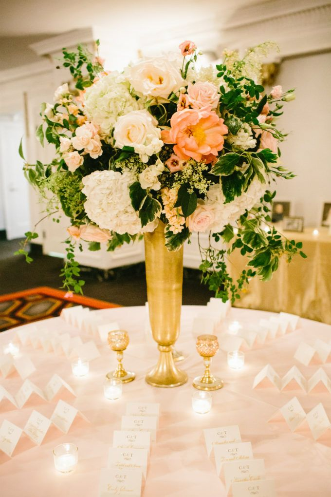 Photography: Pen Carlson Floral Design: Vale of Enna  Planner: Sweetchic Events Chicago Wedding