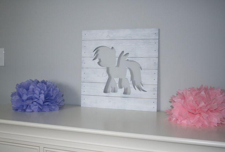 my pony wood cutout wall my pony wall