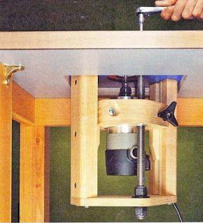 Ah! E se falando em madeira...: elevador para tupia invertida, projeto gratuito no blog