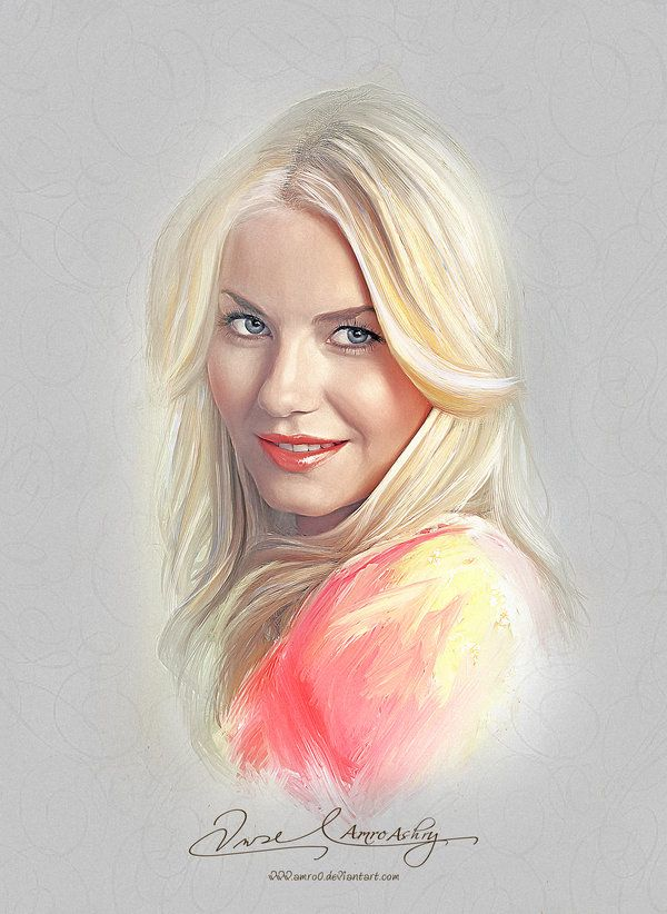Pretty Face - Elisha Cuthbert by Amro0 on DeviantArt