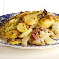 Recept - Witlofovenschotel met gehakt en salami - Allerhande