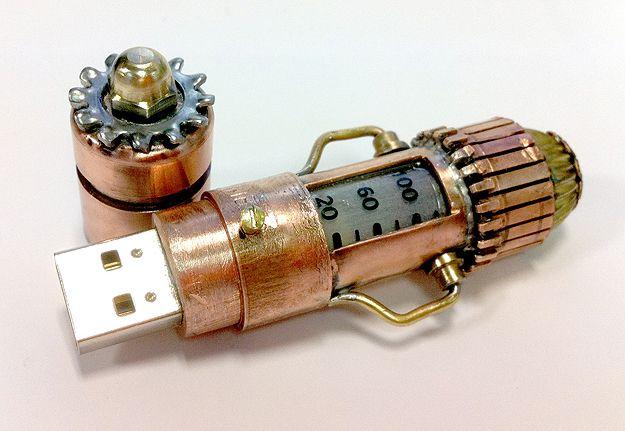 Steampunk USB Thumb Drive