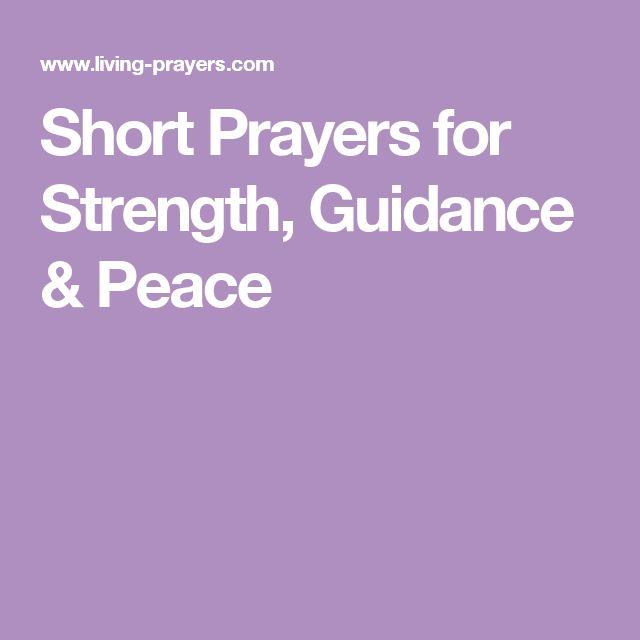 Short Simple Prayer Quotes: 17 Best Ideas About Short Prayers On Pinterest