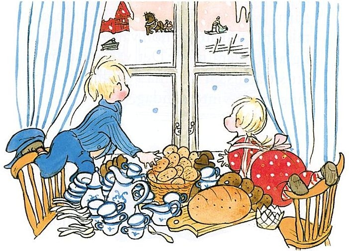 'Emil of Lönneberga'  by Astrid Lindgren  illustrated by Björn Berg