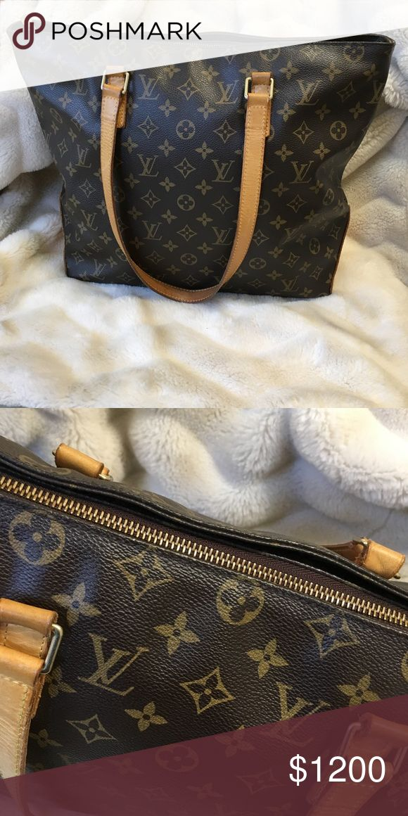 Louis Vuitton Monogram Canvas Cabas Mezzo Tote Bag Louis Vuitton handbag, great condition. FAST SHIPPING! Like the item but not the price? So what are you waiting for make a offer!  Louis Vuitton Bags