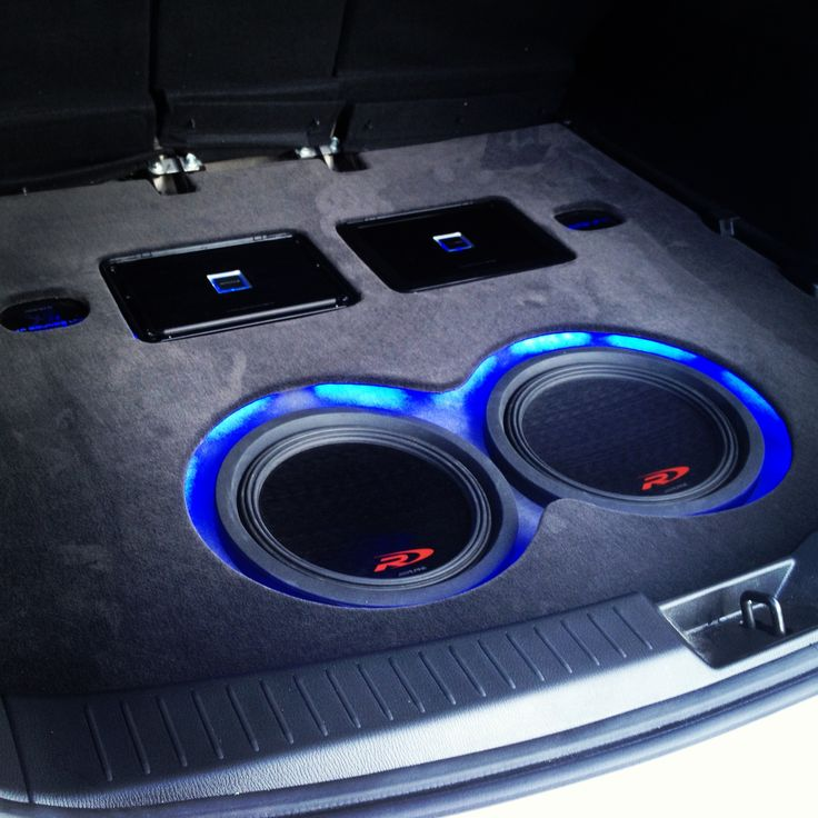 Custom install for our cool rep Tim from Alpine in his CX5 ...