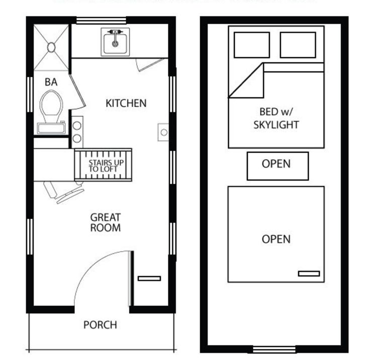 65 best Home Plans images on Pinterest Small houses Tiny house