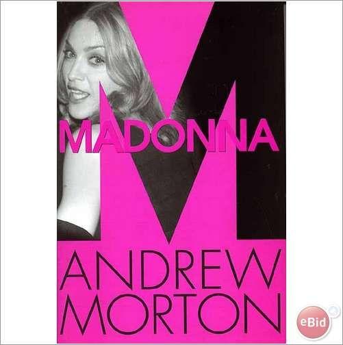 Madonna. Book Madonna biography by Andrew Moreton. Hard Back Book.