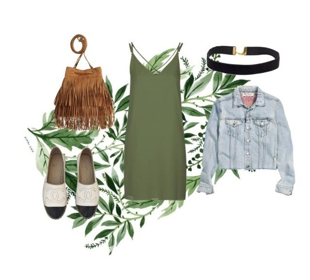 """""""Lazy-Sexy Day"""" by lizdalma on Polyvore featuring Topshop, H&M and Chanel"""