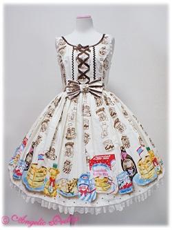 Honey Cake Round JSK - Angelic Pretty