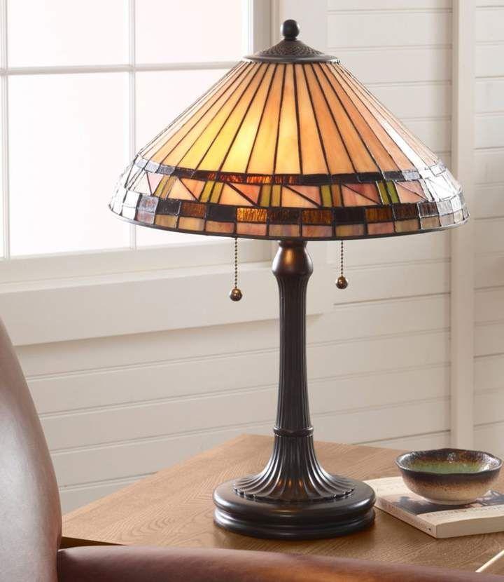L L Bean L L Bean Bradbury Art Glass Table Lamp Art Glass Table Lamp Glass Table Lamp Lamp