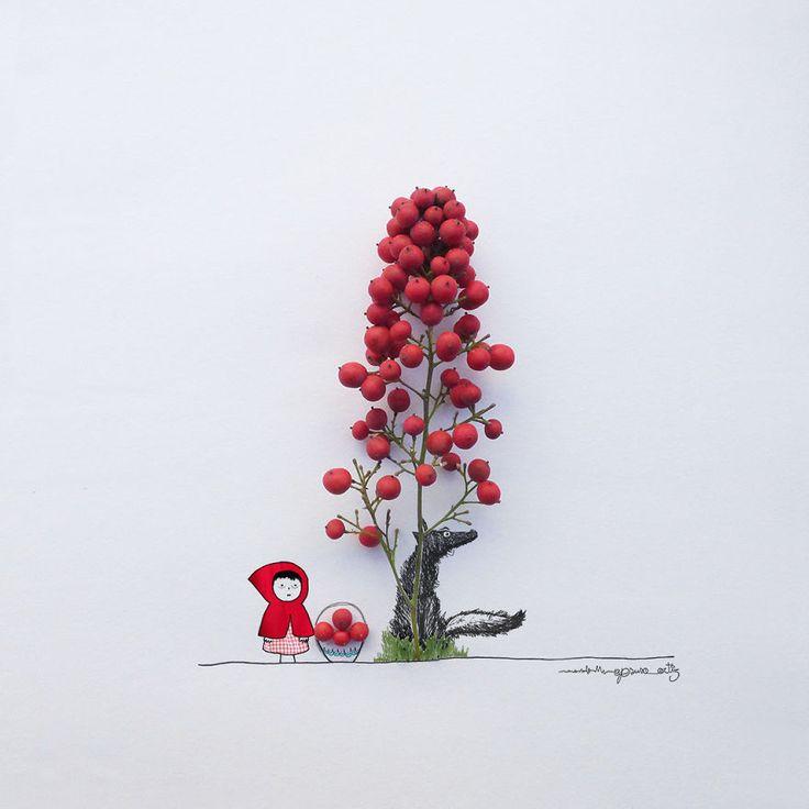 ¡Este artista convierte flores y objetos comunes en obras de arte!