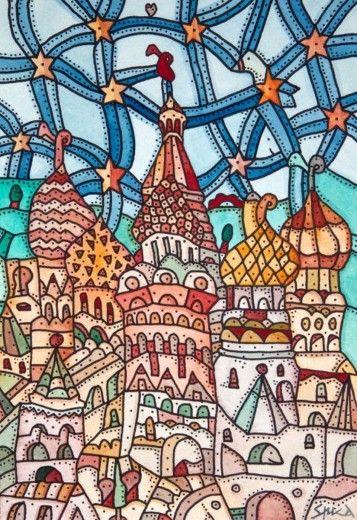 Le 'città magiche' di Pietro Spica