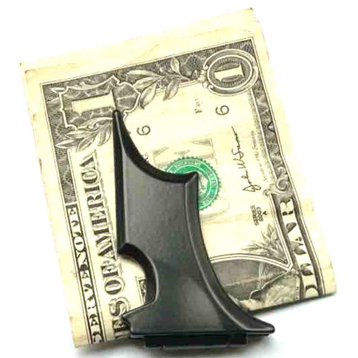 Мужская Нержавеющей Стали Летучая Мышь Летучая Мышь Тонкий ID Карты Cash Money Держатель Магнитный CN