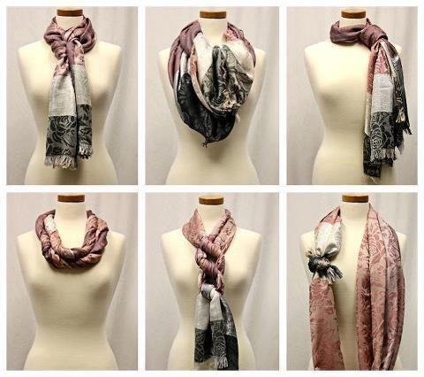 Scarf Tying – How to Tie Scarves