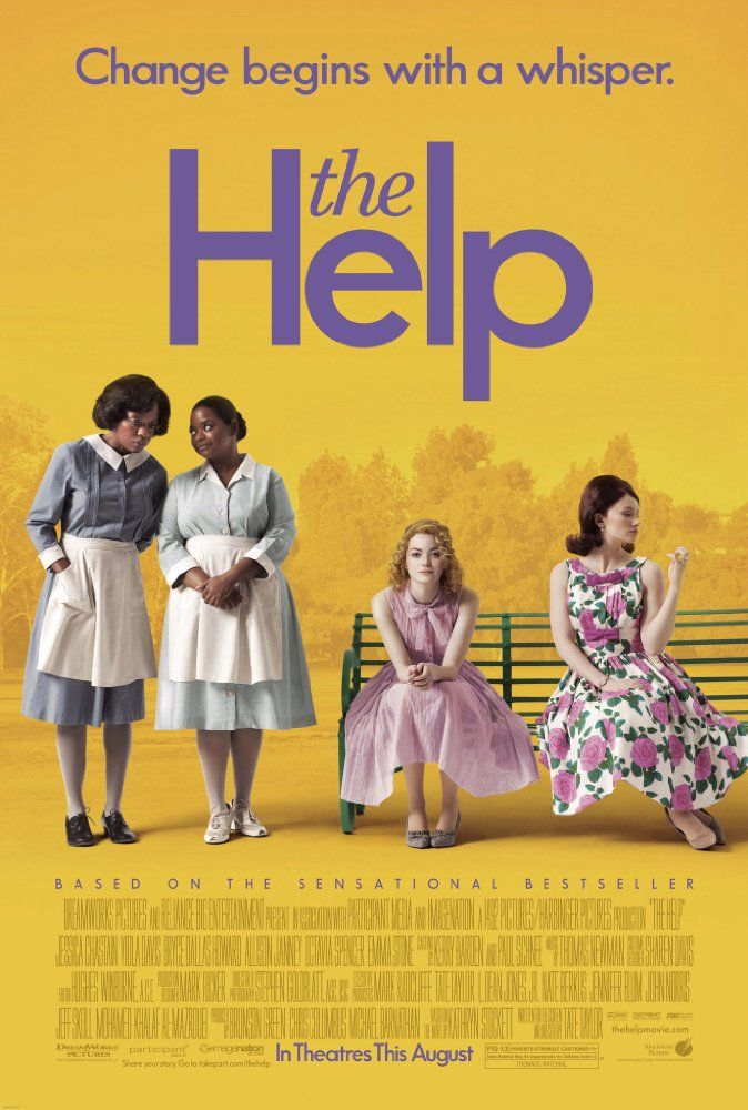 Directed by Tate Taylor.  With Emma Stone, Viola Davis, Octavia Spencer, Bryce Dallas Howard. An aspiring author during the civil rights movement of the 1960s decides to write a book detailing the African American maids' point of view on the white families for which they work, and the hardships they go through on a daily basis.
