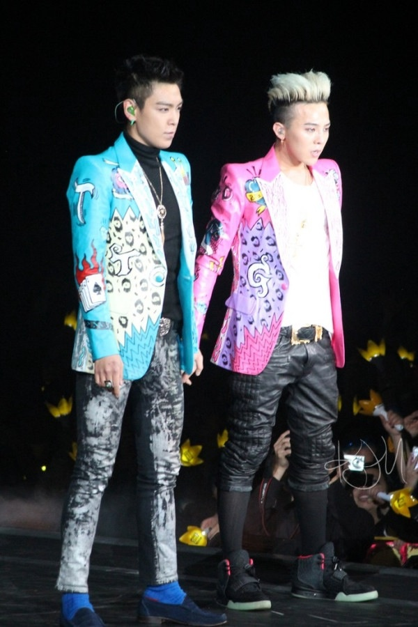gd and top relationship concerns