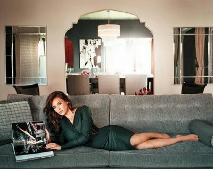 Living Room Jessica Alba Pinterest Rooms