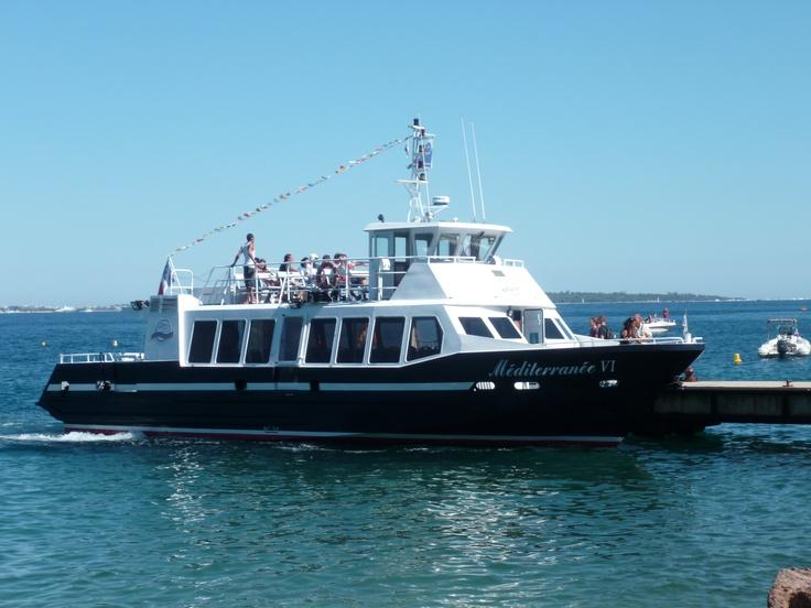 Departure to Lerins Island (July/August)