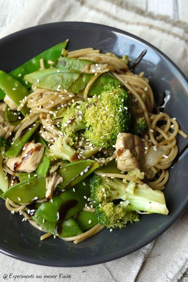 Spaghetti-Gemüse-Pfanne {Asia Style} für 9 SP pro Person