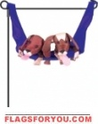Playful Puppies Garden Charm - 2 left